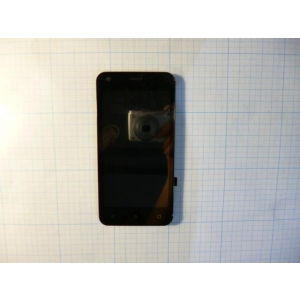 модуль на Смартфон Fly LCD+TP+front cover for black color